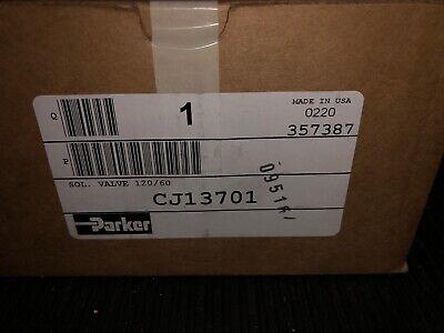 Parker Hannifin Cj13701 3-way 2-position. Solenoid Valve 38 Fnpt Schrader