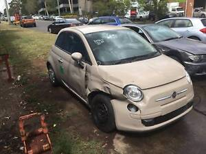 Fiat 500 HATCHBACK 2013 AUTOMATIC NOW WRECKING Northmead Parramatta Area Preview