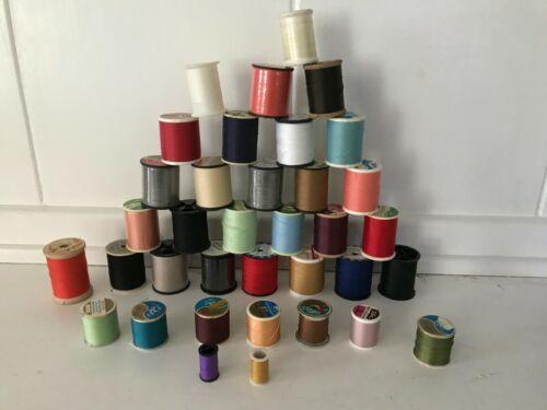 Lot of 36 Spools of Thread