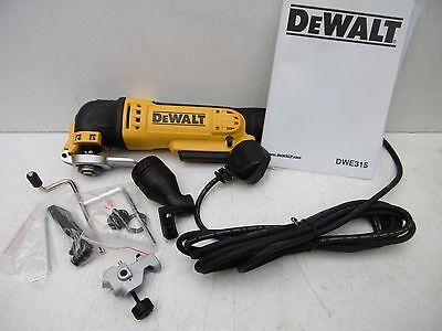 DEWALT DWE315 OSCILLATING MULTI TOOL 240V BARE UNIT NO TOOLS OR CASE