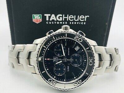 Tag Heuer 'Link' Chronograph Men's Watch - CJ1112
