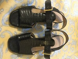 Salvatore Feregamo Sandals Size 5
