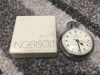 Boxed Ingersoll Triumph Pocket Watch Working