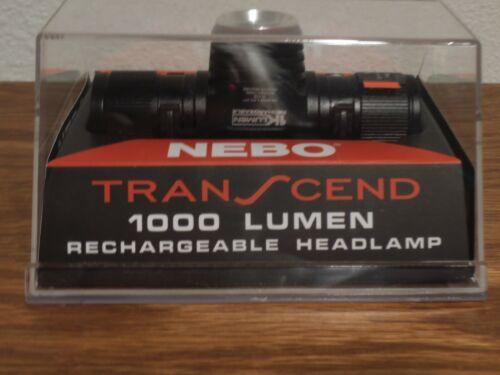 NEBO TRANSCEND 7001 1000 LUMEN RECHARGEABLE HEADLIGHT/WORKLIGHT