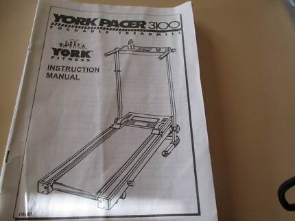 Treadmill York Pacer 3100 Marsfield Ryde Area Preview