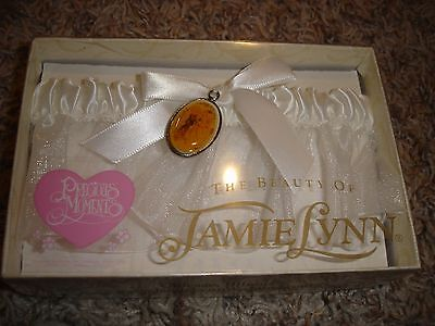 NEW Precious Moments Beauty of Jamie Lynn wedding bridal garter
