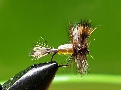 1 dozen BWO Blue Wing Olive #16 Fly Trout Fishing Flies NIB