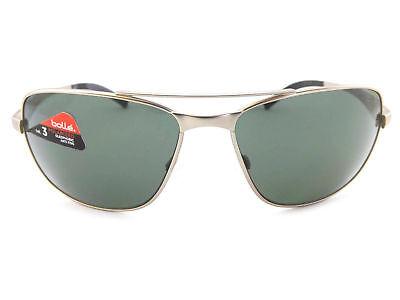Bolle Skylar Herren Polarisierte Sonnenbrillen aus in Italien Satin Silber Metal