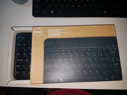 New Dell Tablet keyboard