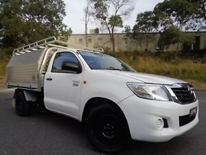 2012 TOYOTA HILUX  WORKMATE ONLY 133000 KM 6 MONTH REGO RWC WARRANTY Hillcrest Logan Area Preview