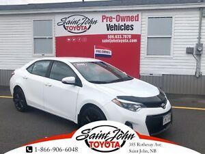 2015 Toyota Corolla S with Alloys+Sunroof $142.89 BIWEEKLY!!!