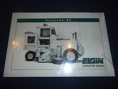 Elgin Pelican Se Series Street Sweeper Operator Operation Maintenance Manual