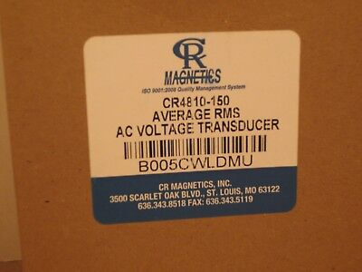 Cr Magnetics Cr6210-150-5 Ac Power Transducer With Single Phase Active Power 20