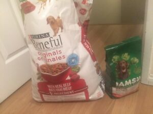 Dog food, only $15 for both