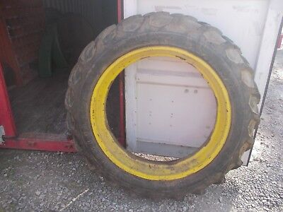 Firestone Champion Ground Grip Tire 12.4x 38 Jd A B G Rim Ih M H Sm Mta Tractor