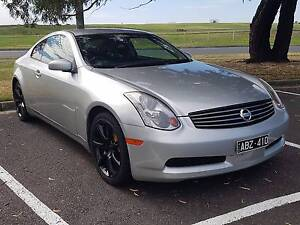 2003 Nissan Skyline V35 350GT 6MT Coupe Silver (QUICK SALE) Dingley Village Kingston Area Preview