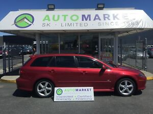 2005 Mazda Mazda6 GT Sport Model Leather, Sunroof!