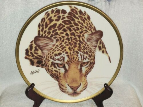 JAGUAR by Guy Coheleach Great Cats of the World LENOX Collector Plate 1994