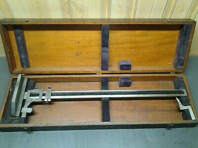 Brown Sharpe No. 585 Machinists 24 Vernier Height Gage Usa  Ms-174