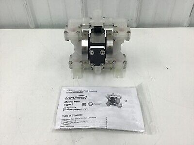 Sandpiper - Pb 14 Ts3pp. Double Diaphragm Pump Polypropylene Air Operated