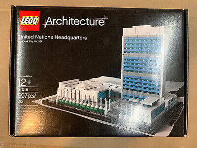 LEGO Architecture 21018 United Nations Headquarters NEW FREE SHIPPING