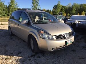 2004 Nissan quest new safety