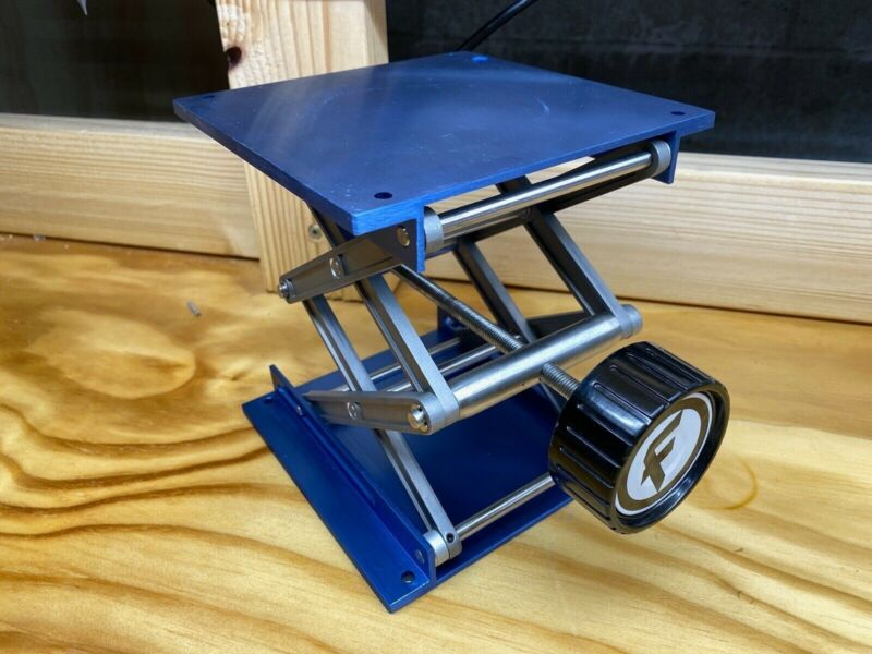 "Fisherbrand High Grade Aluminum Industrial Lab Jack Lift Platform Stand 6 x 6"""