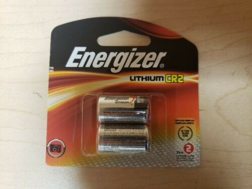 Energizer Pack Of 2 CR2  EL1CRBP2 3V Lithium Battery 12/2027