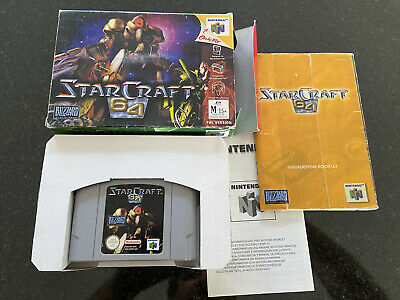 Starcraft 64 For N64! PAL Version! 100% Original!