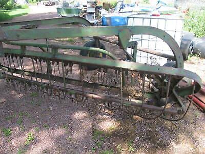 John Deere Pull Type Hay Rake Ground Drive 4 Bar