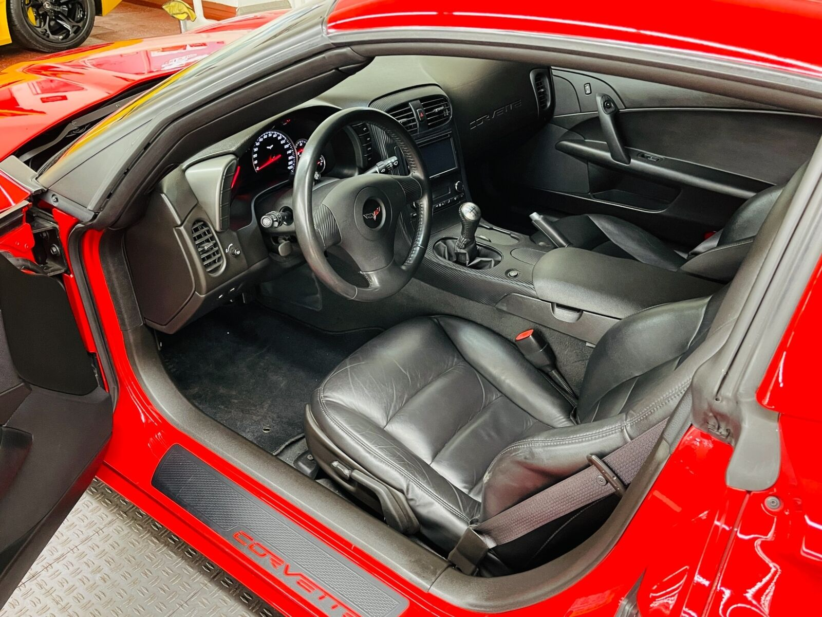 2007 Red Chevrolet Corvette   | C6 Corvette Photo 5