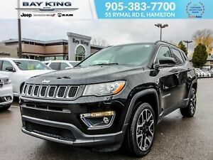 2017 Jeep Compass 4X4, NAV, BLUETOOTH, REMOTE START, APPLE CARPL