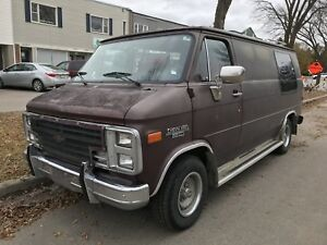 "Groovy  1989 G20 Van - Customized By ""Vantage""  Locally"