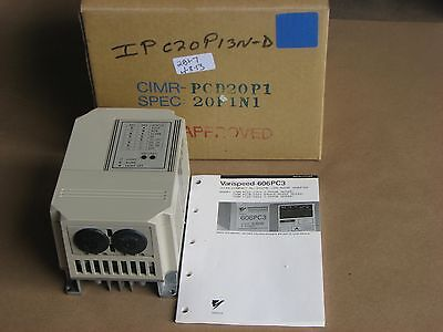 Nib Yaskawa Ultra Compact All-digital Low Noise Inverter Cimr-pcd20p1 3ph 230v