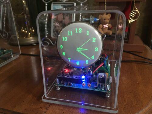 New design century font Mini Oscilloscope Clock DG7-6 CRT Cathode ray tube Scope