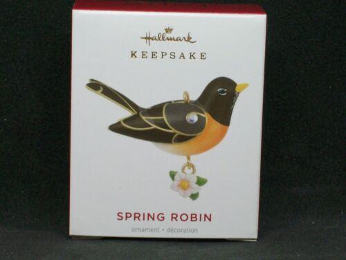 Hallmark 2021 Spring Robin - Miniature - Beauty of Birds - NIB - FREE Shipping