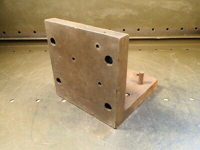 No. 25 6 X 6 X 6 Right Angle Mill Machining Set Up Fixture Plate Used Good