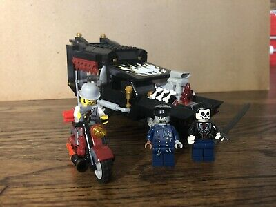 Lego 9464 Monster Fighters Hearse Coffin Minifigs Halloween Zombie Hot rod