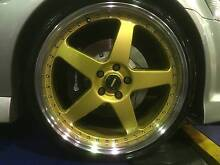 """Holden Commodore 20"""" STAGGERED F40 RIMS & TYRES Woy Woy Gosford Area Preview"""