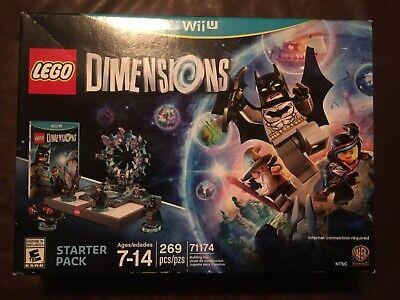LEGO Dimensions Starter Pack 71174 Batman Nintendo Wii U 2015