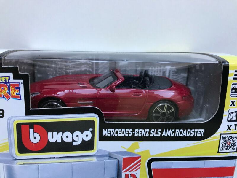 Bburago Build Your City - CAR DEALER + 1 CAR, Bausatz 1:43 mit MB SLS AMG Roadst