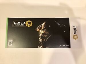Fallout 76 Xbox One code