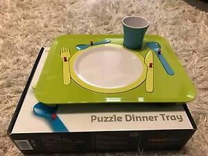 Puzzle Dinner Trays Denham Court Campbelltown Area Preview