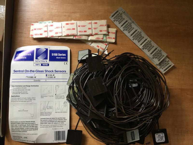 Sentrol 5150-M Glass Break Shock Sensor Brown Interlogix