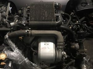 Toyota MR2 3SGTE turbo with LSD transmission available