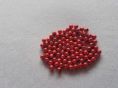 Kunststoffperlen 3 - 8 mm 50 - 1000 Stück Verschiedene Farben