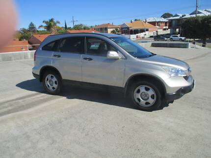 2008 honda cr-v re my2007 special edition 4wd silver 6 speed.