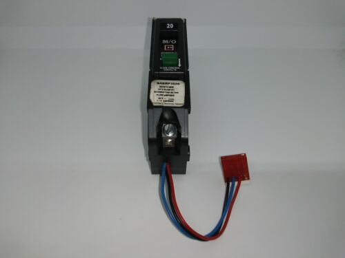 Eaton Cutler-Hammer BABRP1020 20 Amp 1 Pole Remotely Operated Circuit Breaker