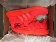 Adidas Originals NMD R1 Solar Red - size US10 St Kilda Port Phillip Preview