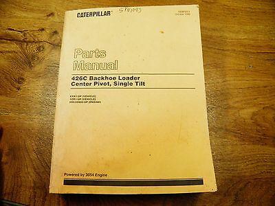 Cat Caterpillar 426c Parts Manual Book 6xn 1cr